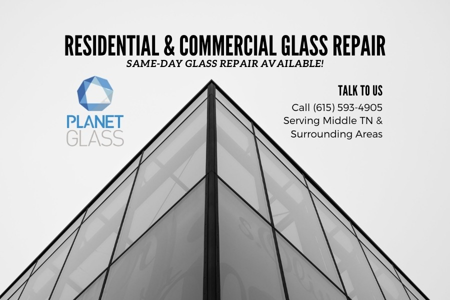 We Specialize in Commercial Glass Storefront Services