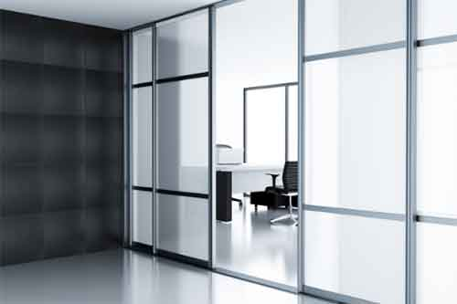 custom heavy privacy glass for commercial