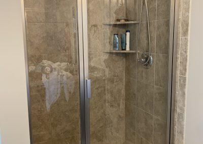 Custom Sized Glass Shower Door