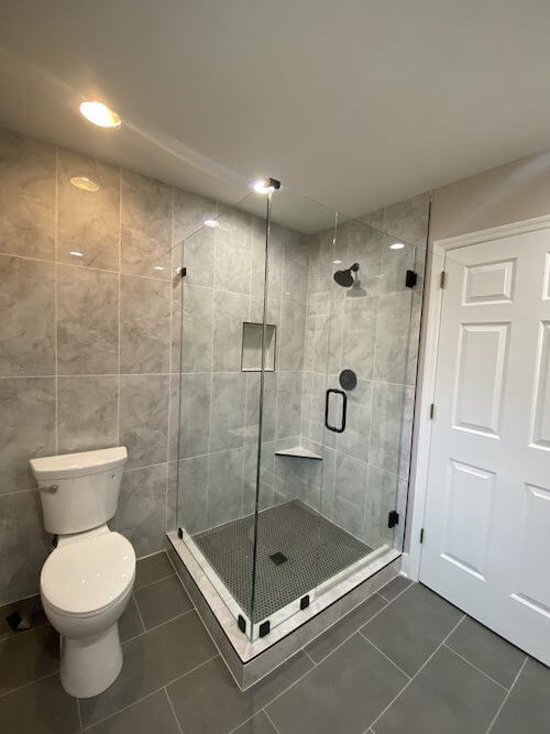 home bathroom shower glass remodel columbia tn